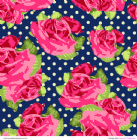 Patterned Paper Granny's Tablecloth